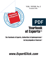 Yearbook of Experts, Authorities & Spokerspersons
