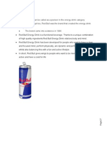 redbull imc plan The integrated marketing communications (imc) concept of mcdonald's fast food chains nowadays is linked with the efficiency of the capitalist and the practices of the american consumers this feature has become the recipe for mcdonald's success and popularity.