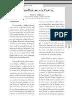 EL SOCIALISMO FIDELISTA DE CHAVEZ. RAMÓN. J. VELÁSQUEZ.