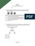 Practice Questions Chs 21-24 1