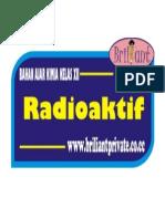 Bahan Ajar Radioaktif
