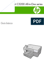 Manual Impresora HP Photo Smart C5280