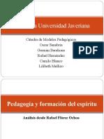 3 - Pedagogia y Formación - Rafel Florez