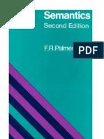 40338636 Palmer f r Semantics a New Outline