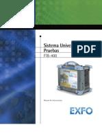 User Guide FTB-400_ESPAÑOL