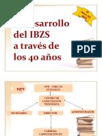 Desarrollo del IBZS a través de los 40 años