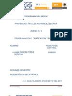 PROGRAMAS EN C, GRAFICACIÓN Y PUERTOS