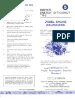 Diesel Engine Service Tips