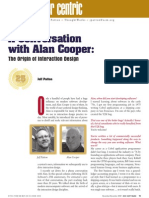 A conversation with Alan Cooper