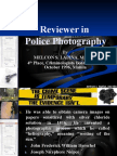 Reviewer in Police Photography