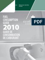 Fuel Consumption Guide 2010