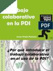 Trabajo Colaborativo en la PDI (pizarra digital interactiva)