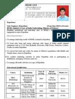 Mikhil Soni - Resume