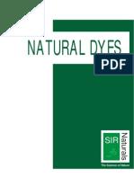 Natural Dyes Portfolio