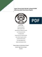 Analisis an Kinerja Bank Mandiri Dan Konstribusinya Pada Penerimaan Negara(1)