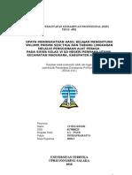PKP Matematika Kelas VI Bangun Ruang