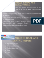 Age Changes in Oral and Dental Tissues_new1