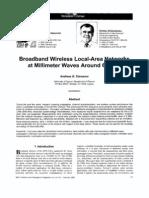 Broadband WLAN at Millimeter Waves Arounds 60GHZ