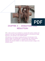 Short Note Chemistry Form 5-Chapter 3 Oxidation and Reduction