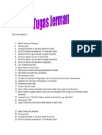 Contoh-contoh kalimat dalam bahasa Jerman