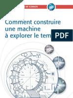 Machine Explorer a Explorer Le Temps