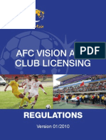 AFC Vision Asia Club Licensing Regulations