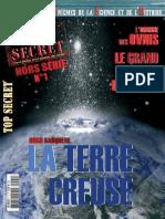 Magazine TOP SECRET Hors-serie Dossier Special TERRE CREUSE