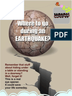 Earthquake - Safety Measures
