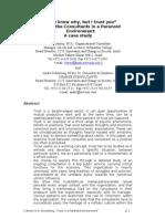 Amitzi & Schonberg Paper