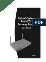 Belkin - Wireless Router F5D6230-3