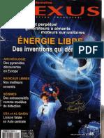 Nexus 45 Energie Libre Al Qaida Pyramides en Europe Psychotronique Radicaux Libres Anton Parks Amp Sumer 3eme Partie Com