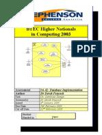Assess 04 42 Database Implementation