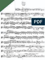 Claude Debussy - Sonata za violinu
