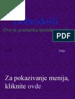 Spanski jezik za pocetnike online dating