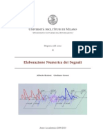 Elaborazione Numerica Dei Segnali (2)