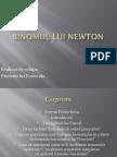 Binomul lui Newton21