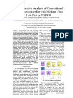 A Comparative Analysis of Conventional 8051 Micro Controller With Modern Ultra Low Power MSP430 1 Ppr