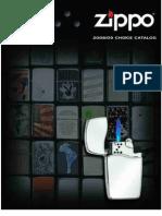 Zippo Lighter Choice Catalog 2008-2009