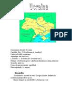 Ucraina PREZENTARE GENERALA