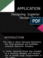 Samsung Designing Superior Design Teams