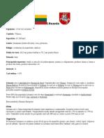 Lituania prezentare generala