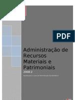 Administração de Recursos Materias e Patrimoniais ver1 br