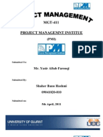 Functions of Project Management Institution