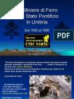 Stifone Miniere Di Ferro Dello Stato Pontificio