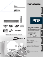 Panasonic DMR-ES10 Manual