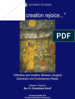"""Let All Creation Rejoice..."" Orthodoxy and Creation"