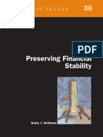 Preserving Financial Stability Schinasi