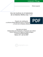 Manual Insulinas