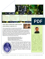 Rome Seminarians Newsletter Spring/Summer  2011