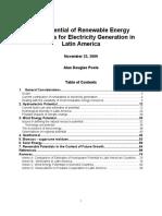 Potential of Renewables in Latin America_Nov 30_2009